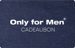 Only for Men Cadeaubon