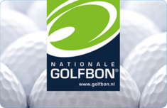 Nationale Golfbon Cadeaukaart